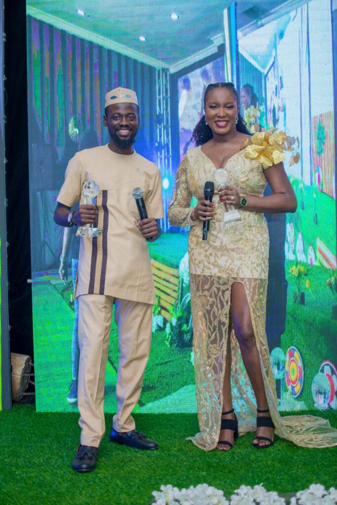 Host 2020 Africa Green Awards Seyifunmi Adebote & Tolulope Adeleru
